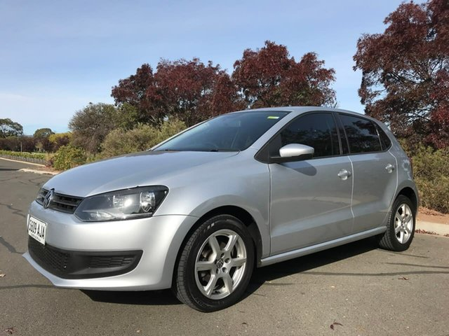 Used Volkswagen Polo 6R 66TDI DSG Comfortline Enfield, 2010 Volkswagen Polo 6R 66TDI DSG Comfortline Silver 7 Speed Sports Automatic Dual Clutch Hatchback