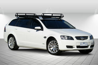 2009 Holden Commodore VE MY10 International Sportwagon Alaska White 6 Speed Sports Automatic Wagon.
