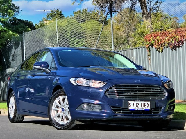 Used Ford Mondeo MD Ambiente Hyde Park, 2015 Ford Mondeo MD Ambiente Blue 6 Speed Sports Automatic Hatchback