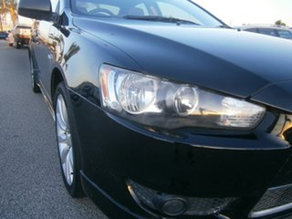 2008 Mitsubishi Lancer CJ MY08 Olympic Special Black 6 Speed Constant Variable Sedan