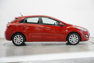 2013 Hyundai i30 GD Active Tropic Red 6 Speed Sports Automatic Hatchback