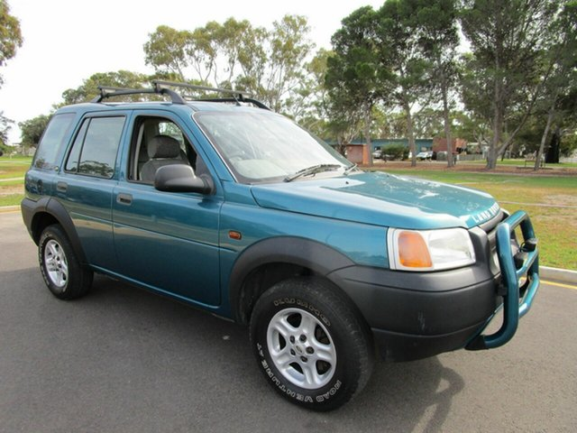 Used Land Rover Freelander I (4x4) Glenelg, 1999 Land Rover Freelander I (4x4) Blue 5 Speed Manual 4x4 Wagon