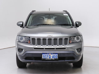 2013 Jeep Compass MK MY12 Limited (4x4) Grey Continuous Variable Wagon.