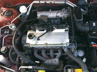 1999 Mitsubishi Lancer CE2 M00 GLXi Burgundy 4 Speed Automatic Coupe