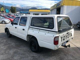 2003 Toyota Hilux RZN149R MY02 4x2 White 4 Speed Automatic Utility.