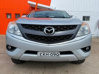 2013 Mazda BT-50 UP0YF1 XTR Silver 6 Speed Sports Automatic Utility.