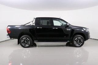 2020 Toyota Hilux GUN126R Facelift SR5 (4x4) Black 6 Speed Automatic Double Cab Pick Up