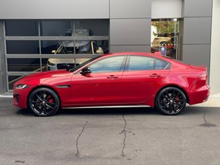 2021 Jaguar XE X760 MY21 P300 AWD R-Dynamic Black Red 8 Speed Sports Automatic Sedan