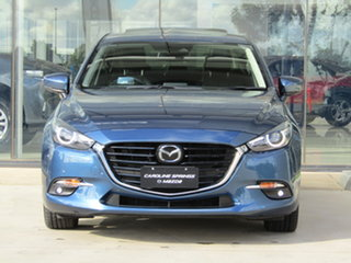 2017 Mazda 3 BN5238 SP25 SKYACTIV-Drive Astina Blue 6 Speed Sports Automatic Sedan