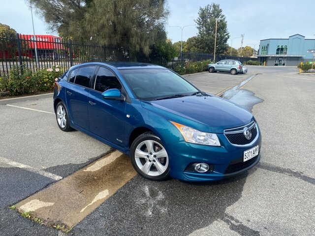 Used Holden Cruze JH Series II MY12 SRi Mile End, 2012 Holden Cruze JH Series II MY12 SRi Green 6 Speed Sports Automatic Hatchback