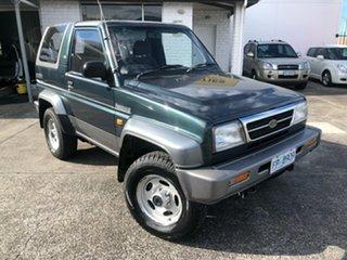 1994 Daihatsu Feroza II F310SX SX Green 5 Speed Manual Hardtop.