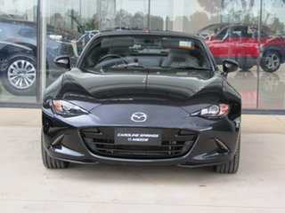2017 Mazda MX-5 ND GT RF SKYACTIV-Drive Black 6 Speed Sports Automatic Targa