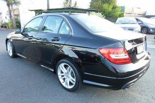 2012 Mercedes-Benz C-Class W204 MY13 C200 BlueEFFICIENCY 7G-Tronic + Elegance Black 7 Speed