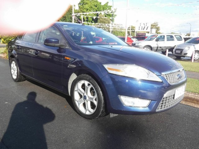 Used Ford Mondeo MA Zetec Margate, 2007 Ford Mondeo MA Zetec Blue 6 Speed Automatic Sedan