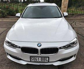 2012 BMW 320d F30 MY0812 320d White 8 Speed Sports Automatic Sedan.