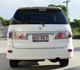 2003 Toyota Estima White 1 Speed Constant Variable Wagon