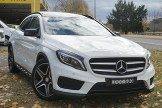 2015 Mercedes-Benz GLA-Class X156 805+055MY GLA250 DCT 4MATIC White 7 Speed