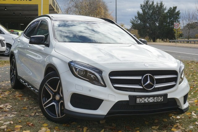 Used Mercedes-Benz GLA-Class X156 805+055MY GLA250 DCT 4MATIC Phillip, 2015 Mercedes-Benz GLA-Class X156 805+055MY GLA250 DCT 4MATIC White 7 Speed