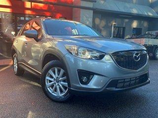 2013 Mazda CX-5 KE1021 MY13 Maxx SKYACTIV-Drive AWD Sport Metallic Grey 6 Speed Sports Automatic.