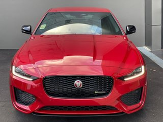 2021 Jaguar XE X760 MY21 P300 AWD R-Dynamic Black Red 8 Speed Sports Automatic Sedan.