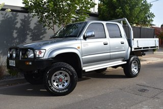 2003 Toyota Hilux VZN167R MY02 SR5 Grey 5 Speed Manual Utility.