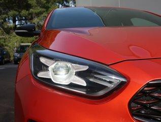 2018 Kia Cerato BD MY19 GT DCT Orange 7 Speed Sports Automatic Dual Clutch Hatchback.