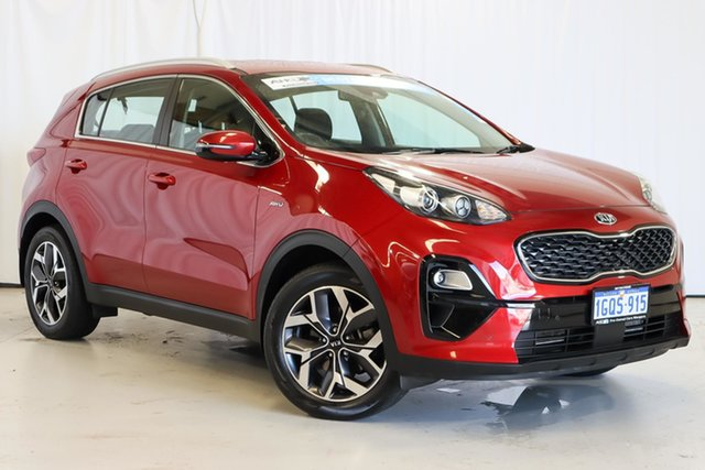 Used Kia Sportage QL MY18 Si AWD Premium Wangara, 2018 Kia Sportage QL MY18 Si AWD Premium Red 6 Speed Sports Automatic Wagon