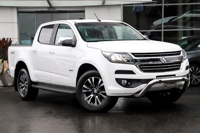 Used Holden Colorado RG MY20 LTZ Pickup Crew Cab Sutherland, 2019 Holden Colorado RG MY20 LTZ Pickup Crew Cab White 6 Speed Sports Automatic Utility