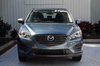 2016 Mazda CX-5 KE1072 Maxx SKYACTIV-Drive FWD Blue 6 Speed Sports Automatic Wagon.