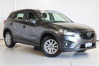 2014 Mazda CX-5 KE1071 MY14 Maxx SKYACTIV-Drive Sport Grey 6 Speed Sports Automatic Wagon.