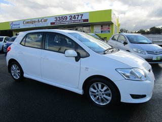 2009 Toyota Corolla ZRE152R Levin SX White 6 Speed Manual Hatchback.