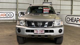 2005 Nissan Patrol GU IV MY05 ST-S Silver 4 Speed Automatic Wagon
