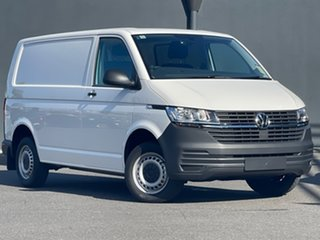 2021 Volkswagen Transporter T6.1 MY21 TDI340 SWB DSG White 7 Speed Sports Automatic Dual Clutch Van.