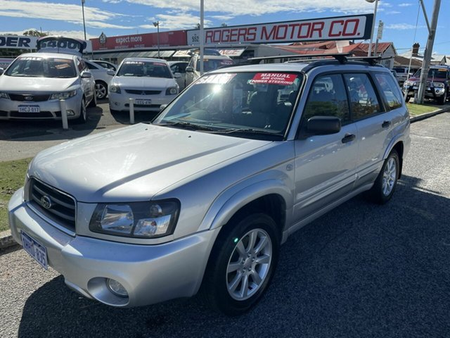 Used Subaru Forester MY05 XS Victoria Park, 2005 Subaru Forester MY05 XS Silver 5 Speed Manual Wagon