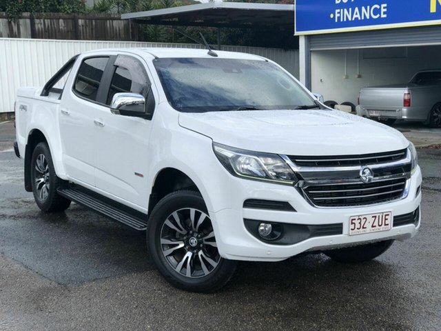 Used Holden Colorado RG MY17 LTZ Pickup Crew Cab Chermside, 2017 Holden Colorado RG MY17 LTZ Pickup Crew Cab White 6 Speed Sports Automatic Utility