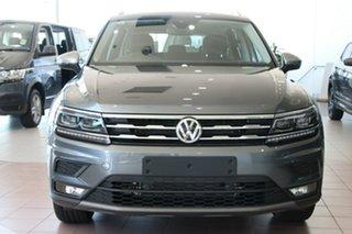2020 Volkswagen Tiguan 5N MY21 110TSI Comfortline DSG 2WD Allspace Grey 6 Speed