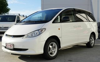 2003 Toyota Estima White 1 Speed Constant Variable Wagon.