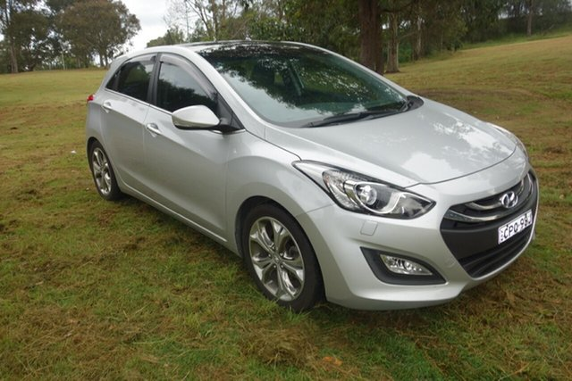 Used Hyundai i30 GD Premium East Maitland, 2012 Hyundai i30 GD Premium Silver 6 Speed Sports Automatic Hatchback