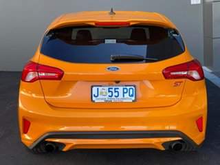 2020 Ford Focus SA 2020.25MY ST Orange 7 Speed Automatic Hatchback
