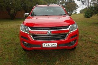 2017 Holden Trailblazer RG MY18 LTZ Red 6 Speed Sports Automatic Wagon.