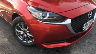 2021 Mazda 2 DJ2HAA G15 SKYACTIV-Drive Pure Soul Red 6 Speed Sports Automatic Hatchback