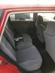 2002 Honda Civic 7th Gen VI Red 5 Speed Manual Hatchback