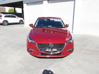 2016 Mazda 3 BM5278 Touring SKYACTIV-Drive Soul Red 6 Speed Sports Automatic Sedan.