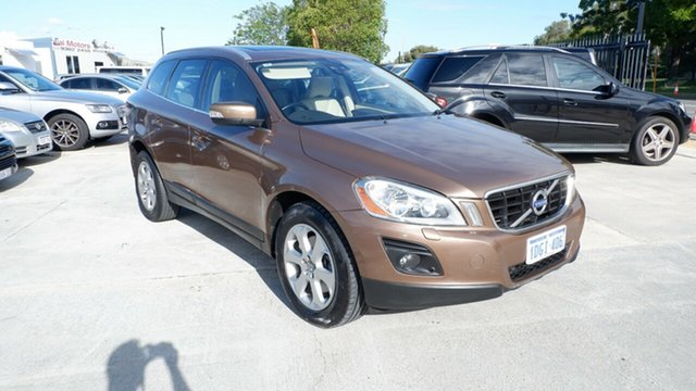 Used Volvo XC60 DZ MY10 Geartronic AWD St James, 2009 Volvo XC60 DZ MY10 Geartronic AWD Brown 6 Speed Sports Automatic Wagon