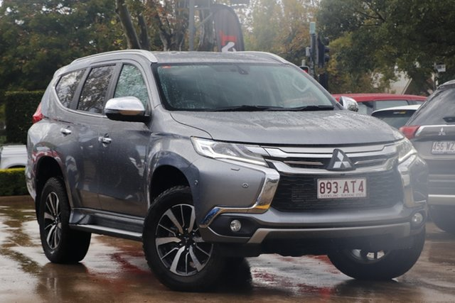 Used Mitsubishi Pajero Sport QE MY18 Exceed Toowoomba, 2018 Mitsubishi Pajero Sport QE MY18 Exceed Grey 8 Speed Sports Automatic Wagon