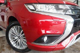 2019 Mitsubishi Outlander ZL MY19 PHEV AWD ES ADAS Red Diamond 1 Speed Automatic Wagon Hybrid.