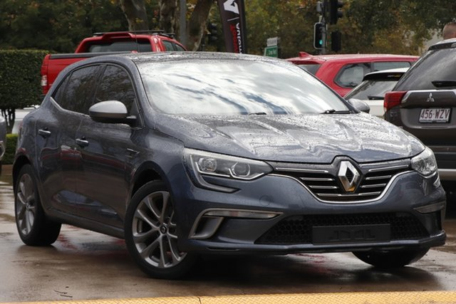 Used Renault Megane BFB GT-Line EDC Toowoomba, 2016 Renault Megane BFB GT-Line EDC Grey 7 Speed Sports Automatic Dual Clutch Hatchback