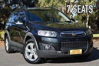 2011 Holden Captiva CG Series II 7 AWD CX Black 6 Speed Sports Automatic Wagon.