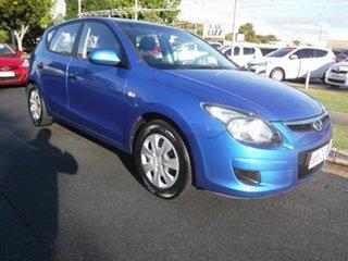 2010 Hyundai i30 FD Blue 5 Speed Manual Hatchback.