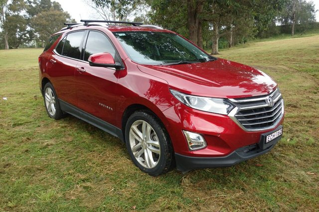 Used Holden Equinox EQ MY18 LTZ FWD East Maitland, 2019 Holden Equinox EQ MY18 LTZ FWD Red 9 Speed Sports Automatic Wagon